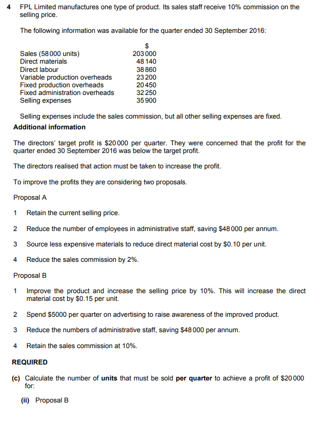 Accounting 2017 A level June P22 - DCLànos Guidance